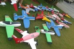 Aeroplane 3D Birthday Themes-11