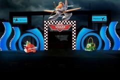 Aeroplane 3D Birthday Themes-12