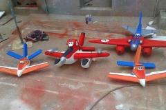 Aeroplane 3D Birthday Themes-15