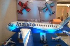 Aeroplane 3D Birthday Themes-16