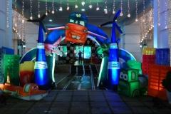 Aeroplane 3D Birthday Themes-2