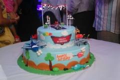 Aeroplane 3D Birthday Themes-6