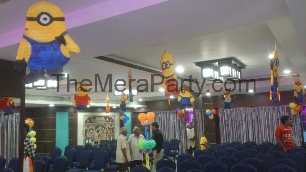 Home 3d Themes Minion Birthday