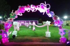 3D Paraschute Birthday Themes-3