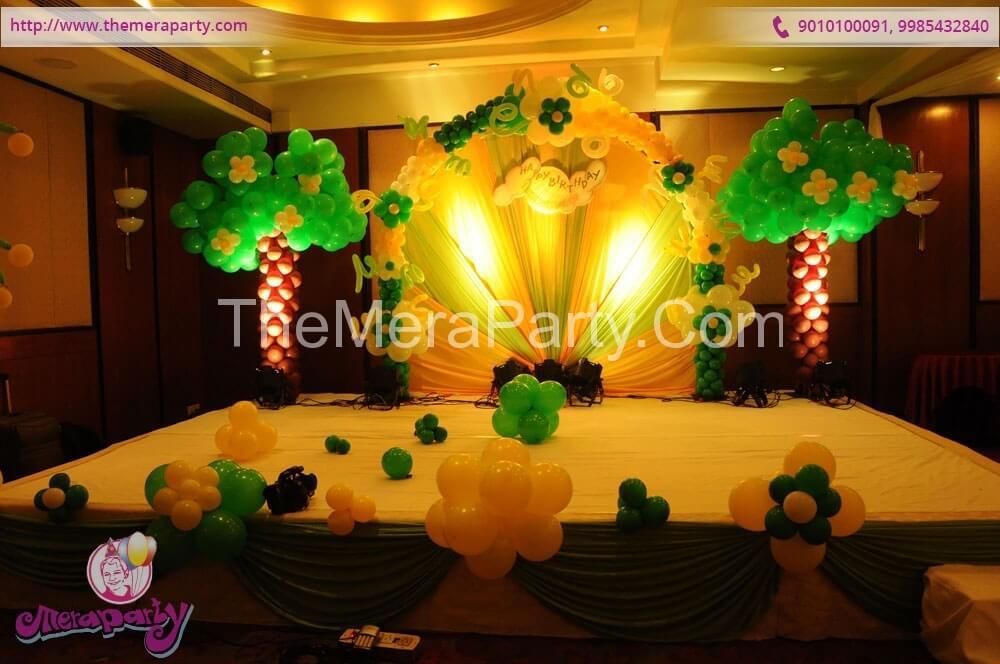 Balloon Decoration Theme