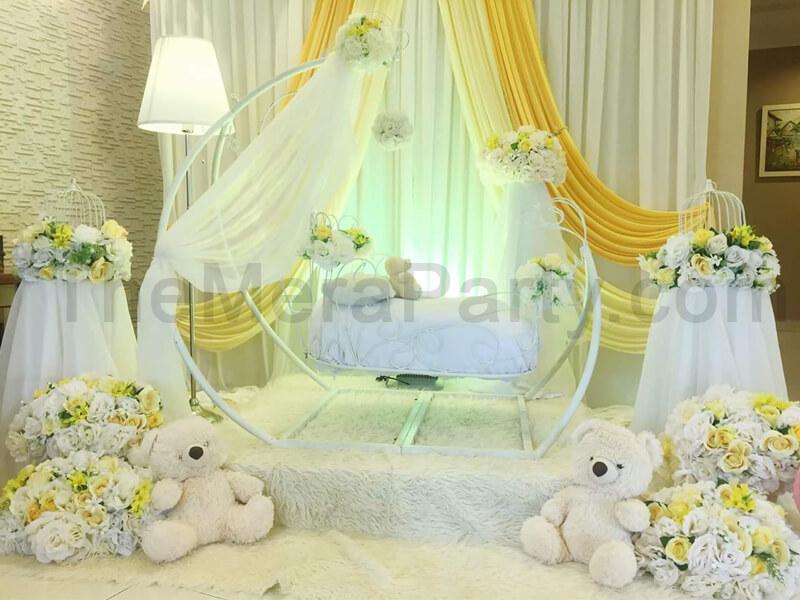 cradle ceremony decorations, cradle ceremony themes