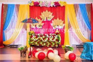 cradle ceremony decoration