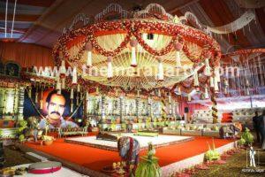 Reception decorations Hyderabad